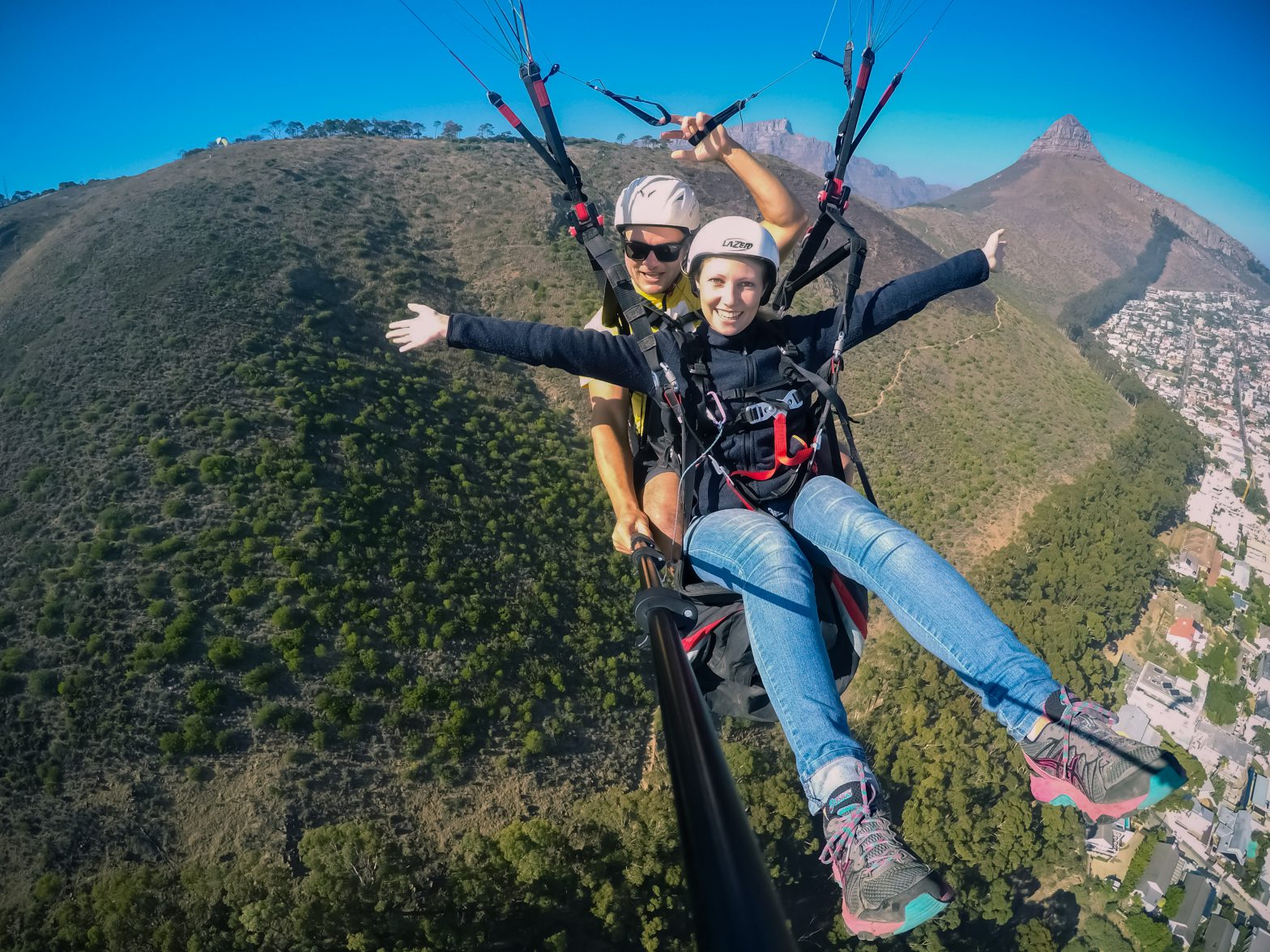 Paragliding, capetown, southafrica, traveling, foreign countries, having fun, Africa, adventure